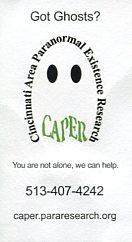 CAPAR's business card