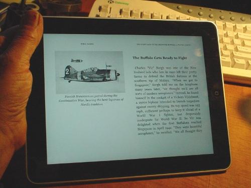 Ebook on Ipad