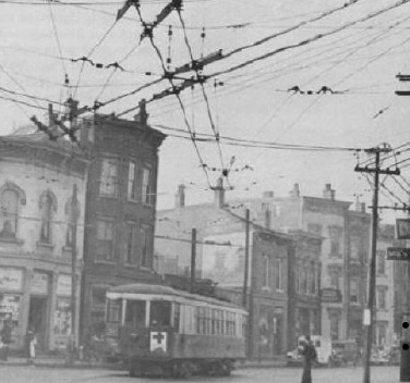Picture of a Cincinnati streetcar